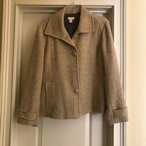 Chicos tweed jacket